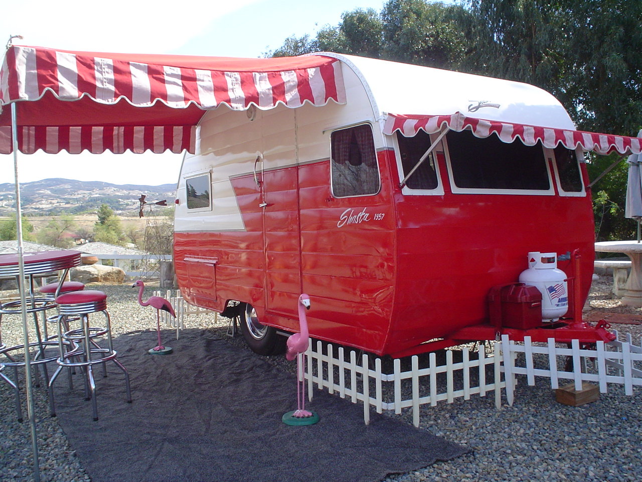 Road Warriors Vintage Trailers Campers Bring Style To